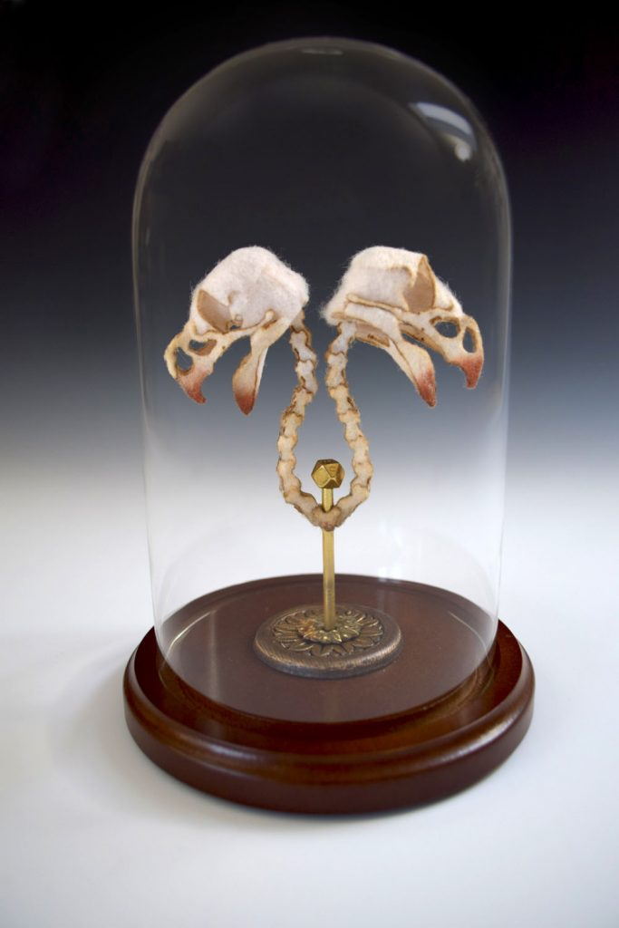 Wool and Silk Skeletons