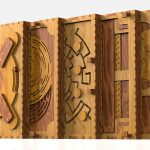 Amazing Wooden Book of Puzzles