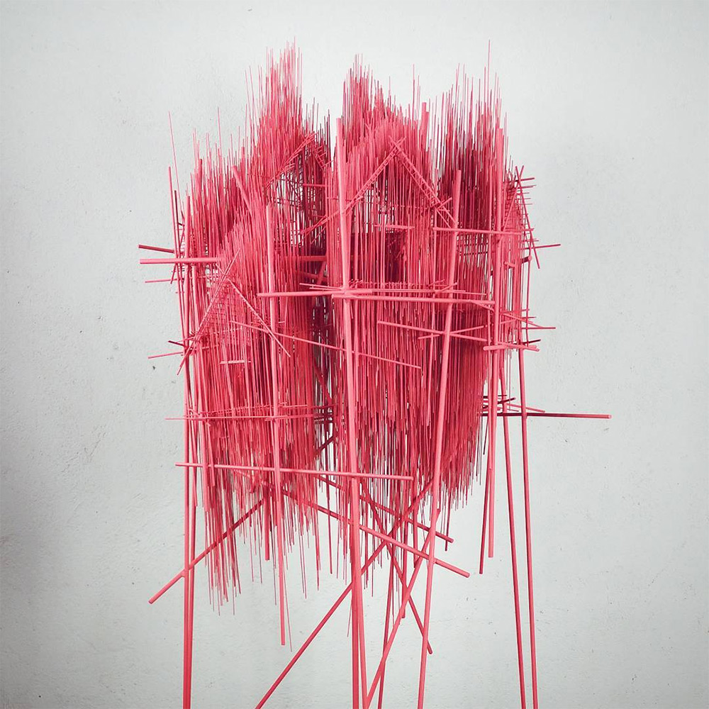 Wirey Structures by David Moreno