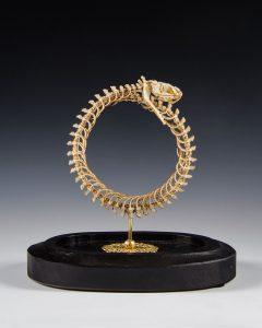 skeleton-wool-sculpture